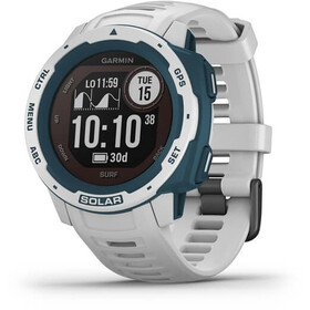Garmin Instinct Solar Surf GPS Smartwatch white/blue
